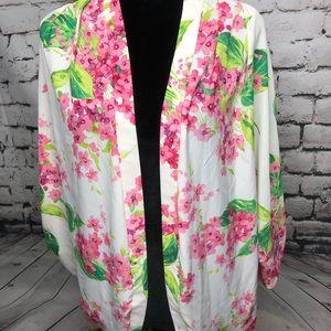 Honey Punch floral kimono cardigan Large